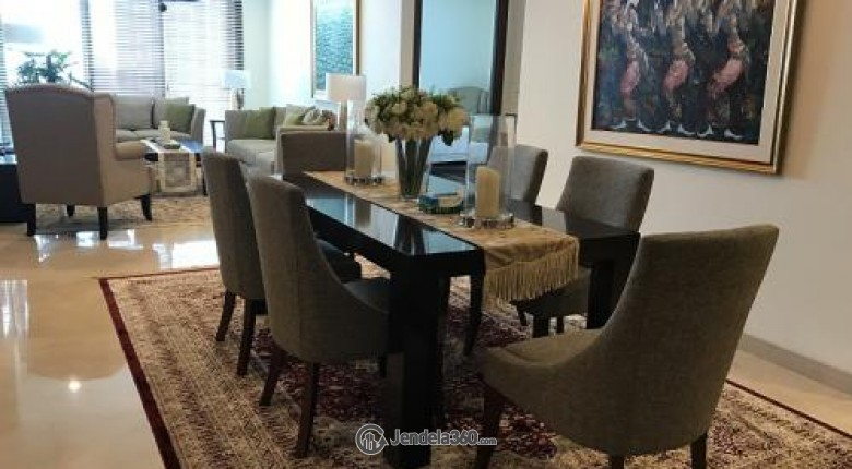 Dining Room Pakubuwono View Apartment