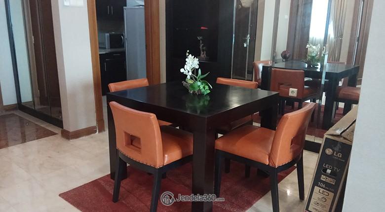 Dining Room Apartemen Puri Imperium Apartment