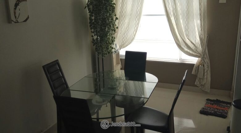 Dining Room Sudirman Park Apartment