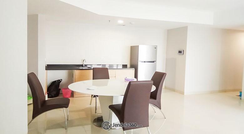 Dining Room The Mansion Jasmine Kemayoran Apartment