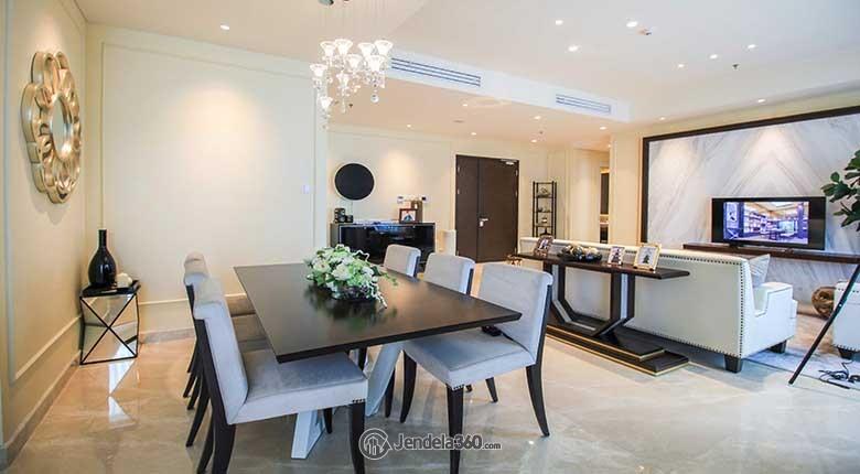 Dining Room Apartemen Wang Residences