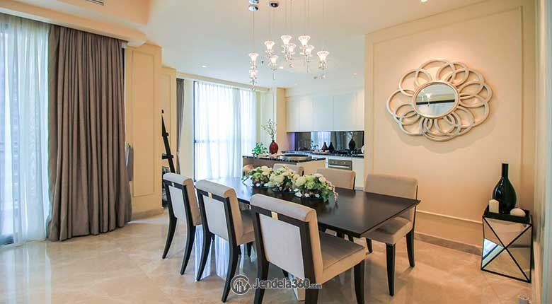 Dining Room Wang Residences Apartment