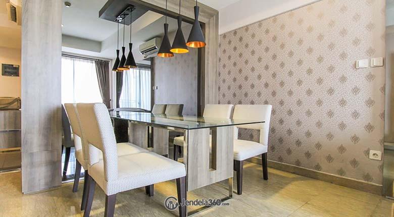 Dining Room Essence Darmawangsa Apartment Apartment