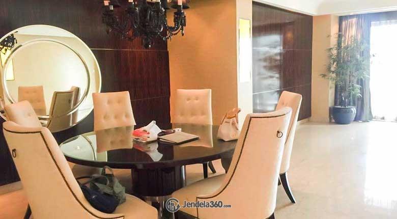 Dining Room Pakubuwono Residence Apartment