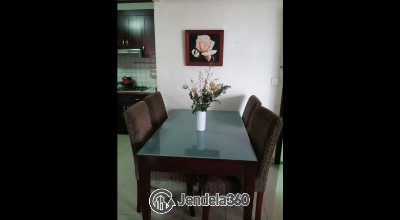 Dining Room Taman Rasuna Apartment
