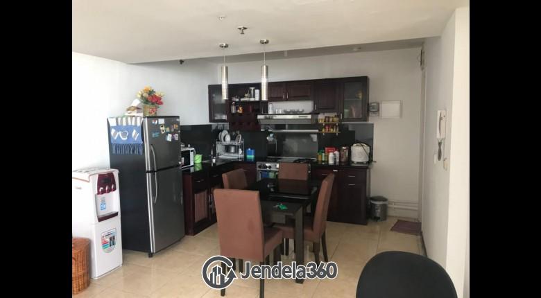 Dining Room Taman Rasuna Apartment Apartment