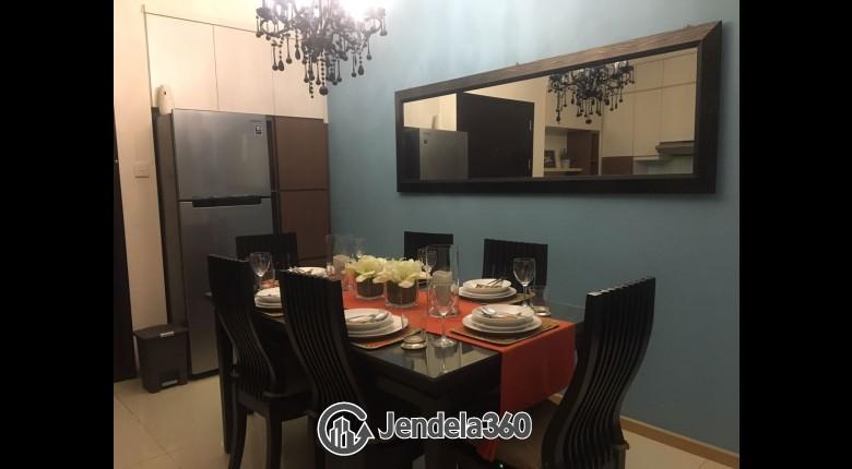 Dining Room Apartemen Gandaria Heights Apartment