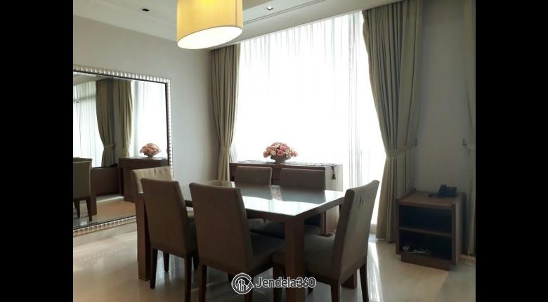 Dining Room Apartemen Pakubuwono View