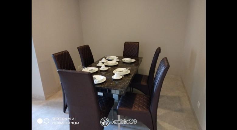 Dining Room Apartemen Ascott Kuningan Jakarta