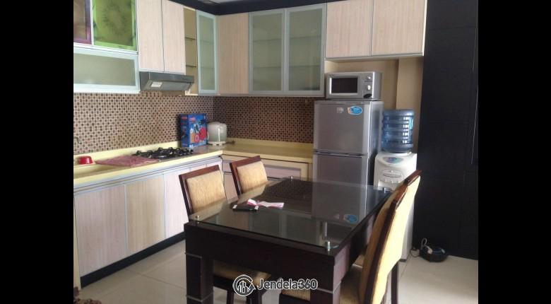 Dining Room Sudirman Park Apartment Apartment