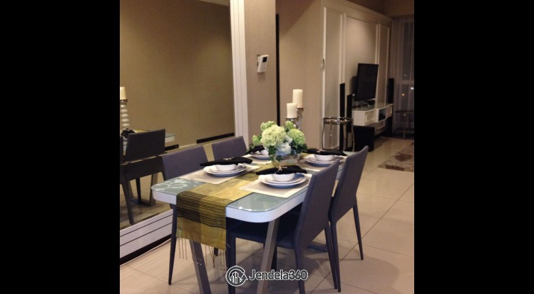 Dining Room Gandaria Heights Apartment