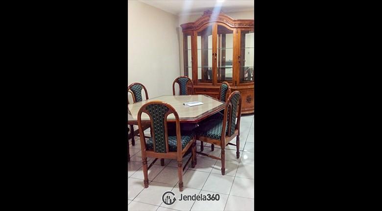 Dining room Taman Kemayoran Kondominium