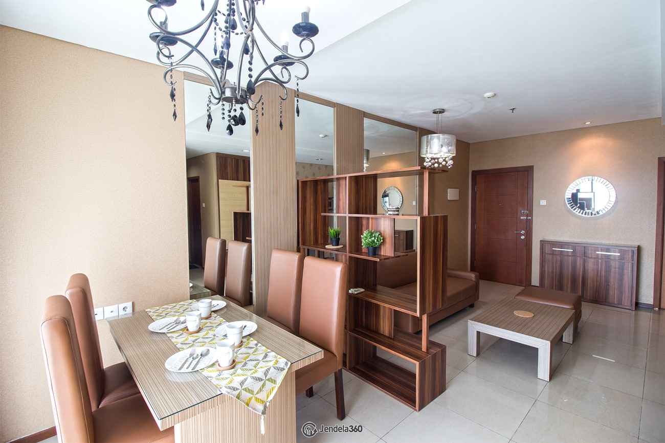 Dining Room Apartemen Thamrin Residence Apartment