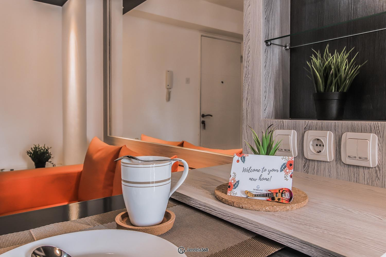 Dining Room Bassura City Apartment Apartment