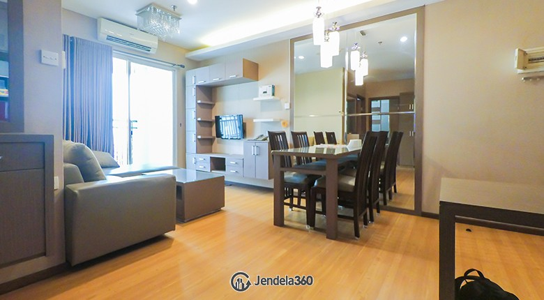 Dining Room Apartemen Thamrin Executive Residence
