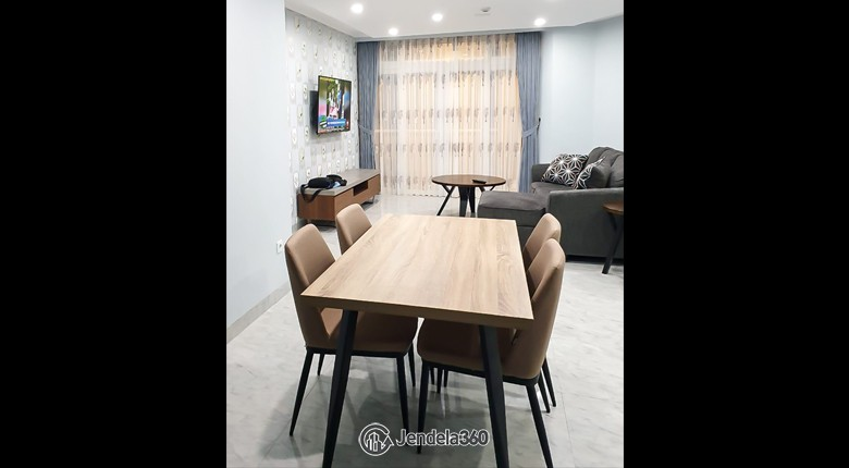 Dining Room Apartemen Beverly Tower Apartment