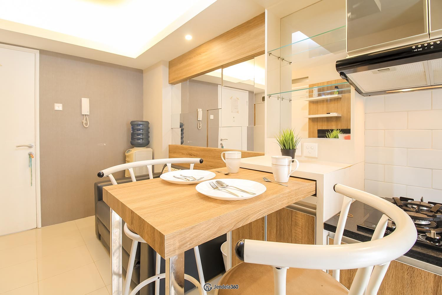 Dining Room Bassura City Apartment Apartment