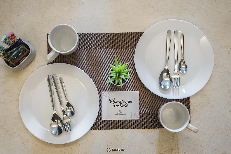 Dining Room Apartemen Marbella Kemang Residence Apartment