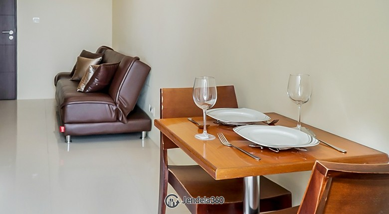 Dining Room Apartemen Bandara City Apartment