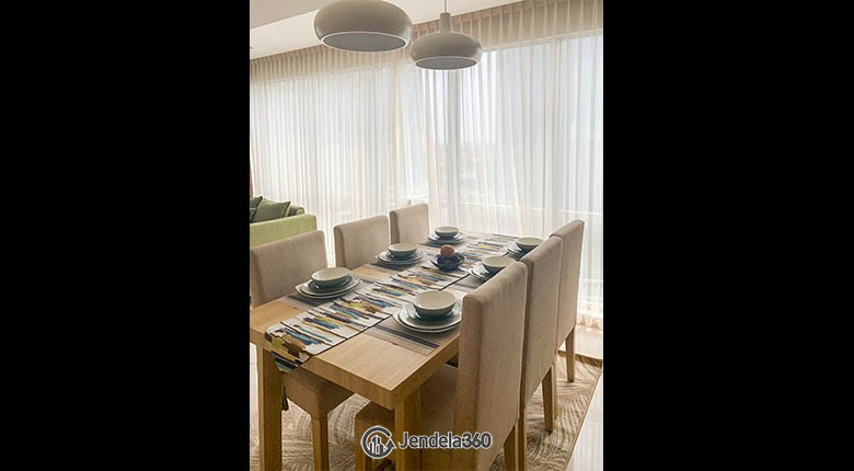 Dining Room Branz Simatupang Apartment Apartment