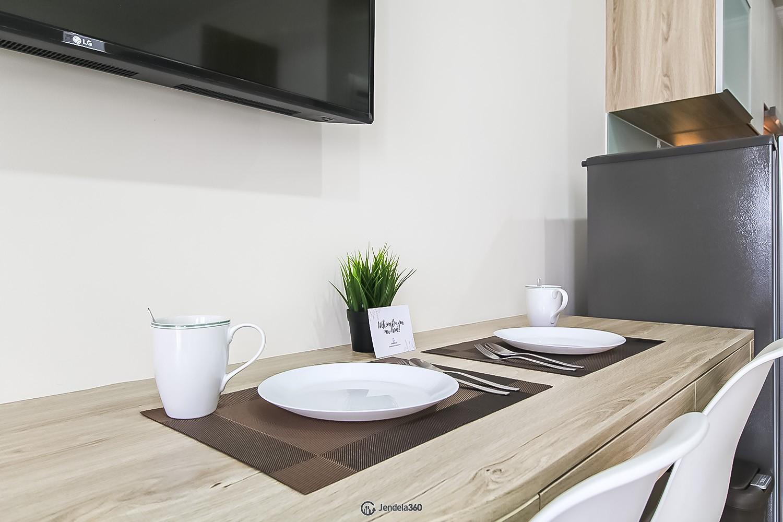 Dining Room Menteng Park Apartment
