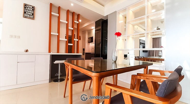 Dining Room Kemang Village Apartment Apartment