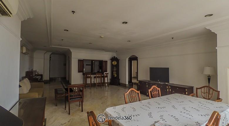 Dining Room Apartemen Permata Hijau Apartment