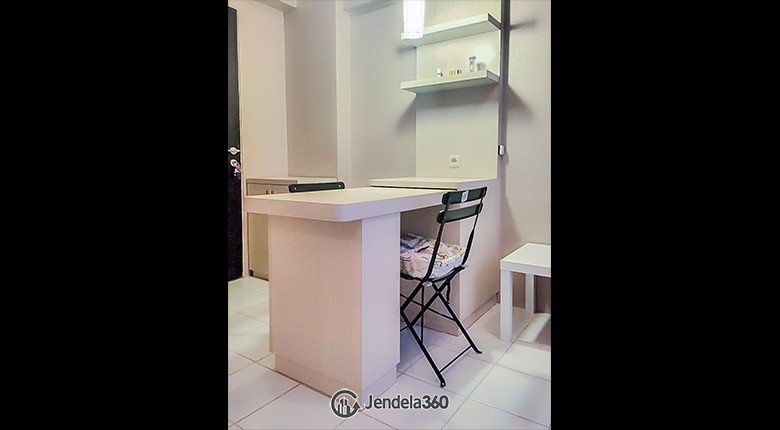 Dining Room Sentra Timur Residence Apartment