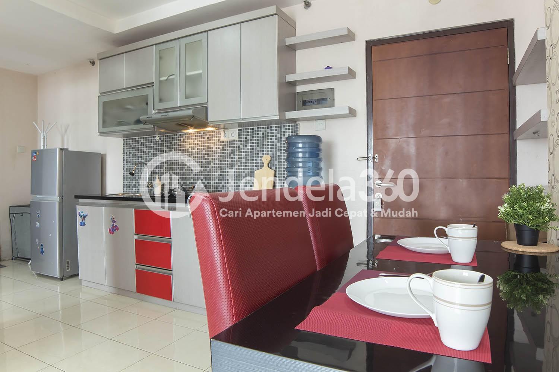 Dining Room Apartemen Salemba Residence