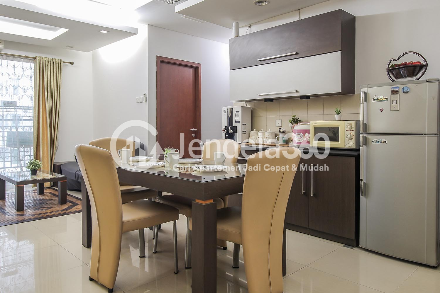 Dining Room Thamrin Residence Apartment