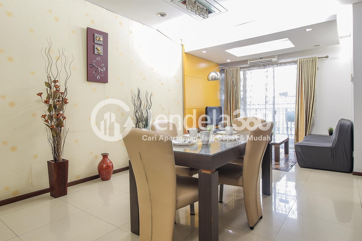 Dining Room Thamrin Residence Apartment Apartment