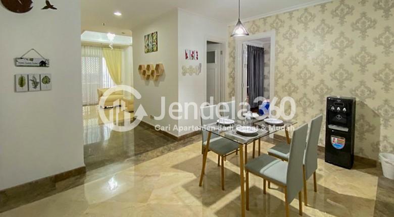 Dining Room Apartemen Kedoya Elok Apartment