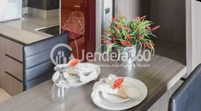 Dining Room Serpong Green View Apartment Apartment