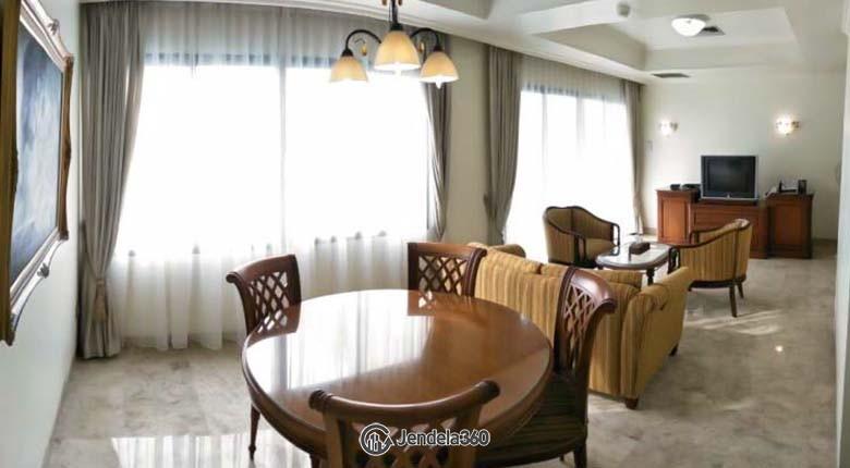 Diningroom Apartemen Ambassador 1 Apartment