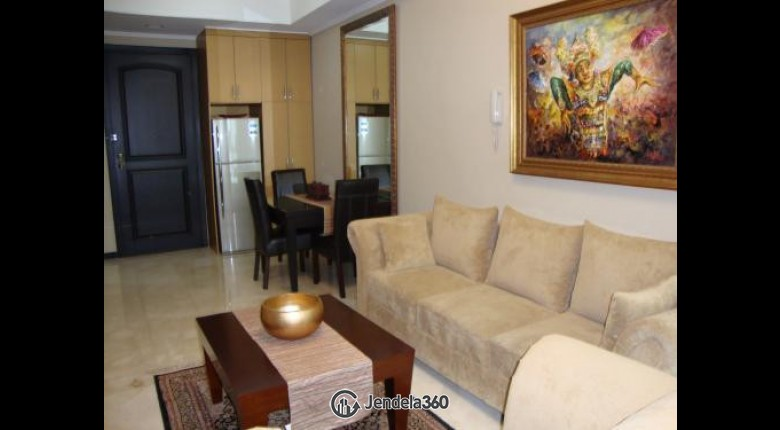 For Sell BLGB002 Apartemen Bellagio Residence 1BR Fully Furnished