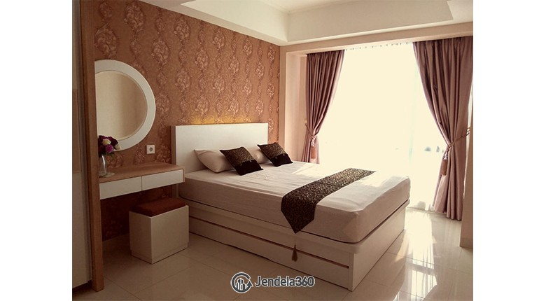 kamar tidur The Mansion Kemayoran Jasmine