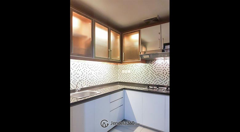 Kitchen 2 Apartemen Central Park Apartment