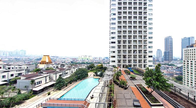 apartemen jakarta residence - cosmo mansion