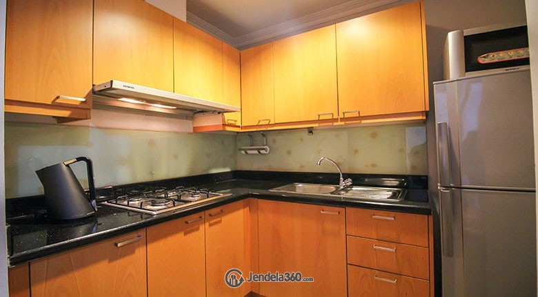 Kitchen Sudirman Mansion Apartment