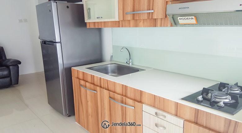Kitchen Apartemen Sudirman Park Apartment