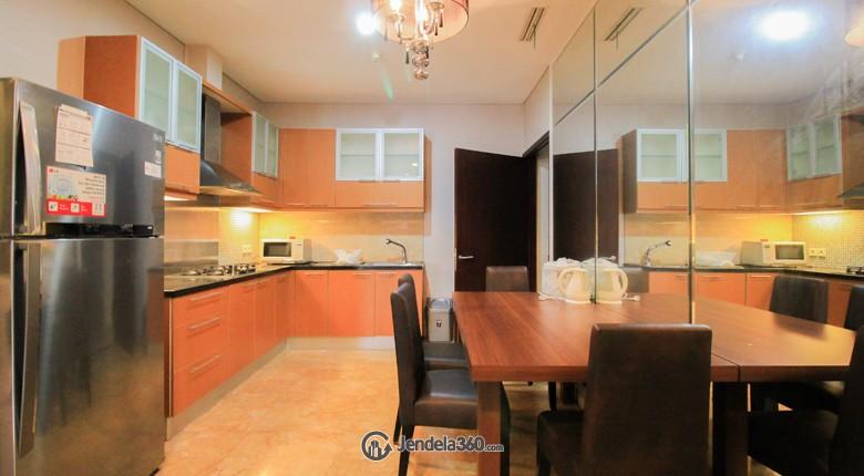 Kitchen Apartemen The Capital Residences