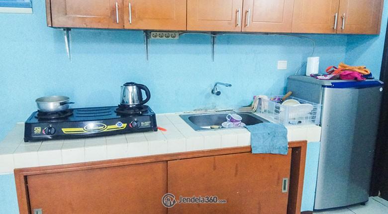 Kitchen The Boutique At Kemayoran Apartment