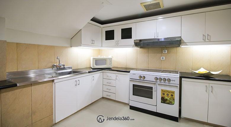 Kitchen Apartemen Pakubuwono Mansion