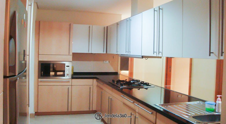 Kitchen Apartemen The Summit Apartment
