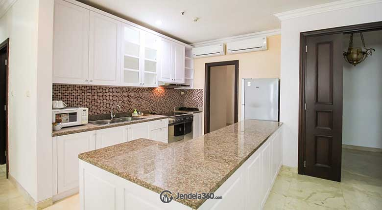 Kitchen Apartemen Belleza Apartment