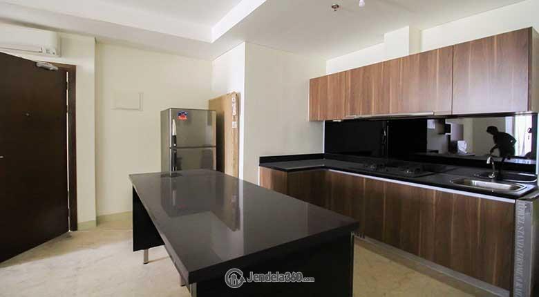 Kitchen Apartemen L'Avenue Apartment