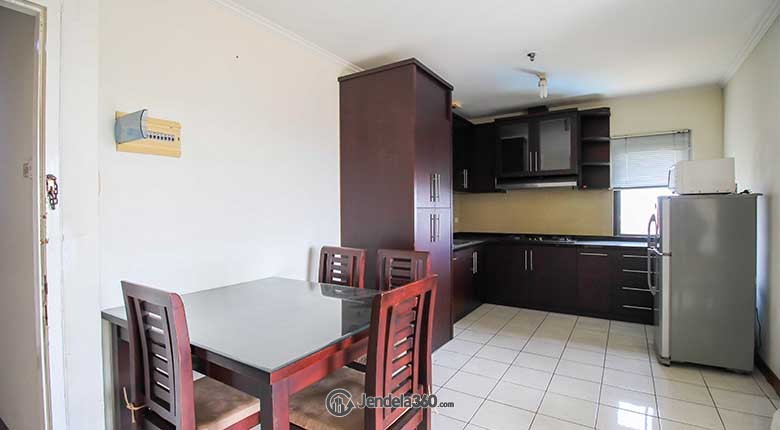 Kitchen Puri Garden Apartment Apartment