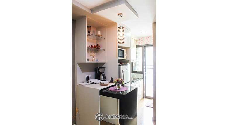 Kitchen Kebagusan City Apartment