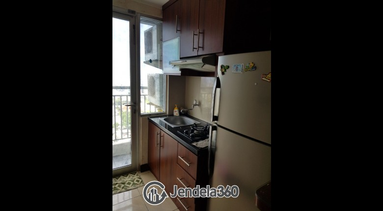 Kitchen Apartemen Season City Apartment