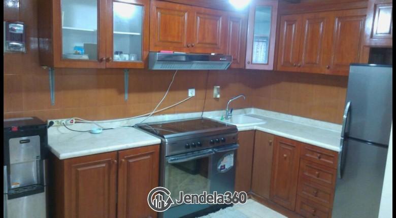Kitchen Taman Rasuna Apartment Apartment